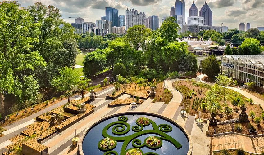 Atlanta Botanical Garden U2013 Skyline Conservation Garden   Atlanta, GA